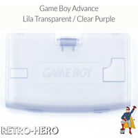 Game Boy Advance Batteriedeckel Fach Deckel Klappe gameboy akku Lila Transparent