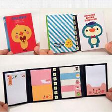 Precioso Notas Adhesivas Sticky Notes Memo Animal Marcador Etiqueta Pegatina /gg
