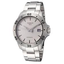 Tissot Men's T1064071103101 Tissot V8 42.5mm Silver Dial Stainless Steel Watch