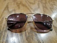 TERRI BROGAN Aviator Bifocal sunglasses 8902 40 56-14 140 1980's