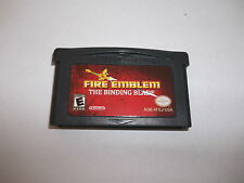Fire Emblem Binding Blade Game Boy Advance Gameboy GBA! English Sword of Seals