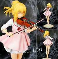 Your Lie in April Kaori Miyazono PVC Action Figure Toy Model 23cm No Box