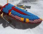 Beaded Neck Knife Sheath Native Amer sm 5