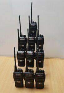 Mitex General Xtreme Professional Compact IP66 Two-Way Licensed Radio Kit x 10