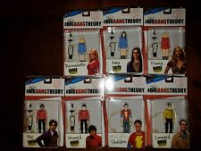 "EE comicon exclusive The Big Bang Theory Star Trek 3.75"" Action Figures numbered"