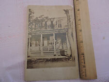 1890s Cabinet Card photo: Mount Mt. Vernon New York NY 3 Cousins Albumen photo