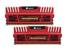 Corsair Vengeance 8GB (2 x 4Gb) 1600MHz DDR3 Red RAM