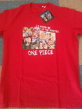 T-Shirt One Piece Luffy Robin Franky Zoro Sanji Ussop Brook Chopper Nami maillot