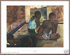 Paul Gauguin  Te Rerioa  Rare Vintage Original 1960 1st Print Ltd Ed Lithograph