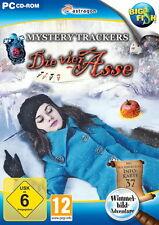 MYSTERY TRACKERS * DIE VIER ASSE * WIMMELBILD-SPIEL  PC CD-ROM