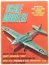 Scale Modeler Magazine Black Widow General Ike Henschel