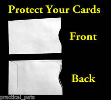 75 Tyvek Secure RFID Chip Blocking Credit Bank Card Sleeve Shields-ID Protection