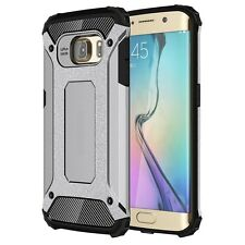 Coque ETUI HOUSSE Cover Protection LUXE 360° pour Samsung galaxy S6 Edge Gris