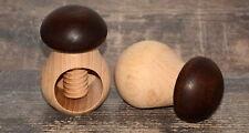 Nussknacker Pilz schön aus Holz Nussbrecher Pilzform Steinpilz Nussschraube Pilz