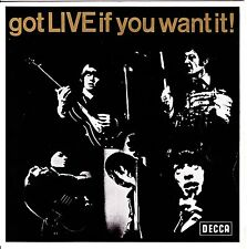 "THE ROLLING STONES : Got Live If You Want It! 7"" EP DECCA Teldec DX 2370 Germany"