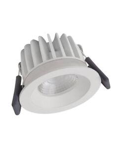Ledvance Spot fix 8W 670lm 4000K WT IP44 dimmbar weiß LED Einbauleuchte = 75W