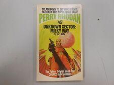 Perry Rhodan #45: Unknown Sector: Milky Way by Kurt Mahr! (1974, Ace PB)! LOOK!