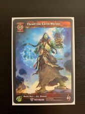 World of Warcraft WoW TCG EA Extended Alternate Art Thrall the Earth-Warder