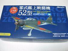 Marushin 1/48 Mitsubish A6M5 Zero Fighter Type 52 Special Diecast Tanimizu Japan
