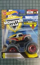 2018 Hot Wheels Monster Jam WONDER WOMAN - Epic Additions 1:64 Scale - DC Comics