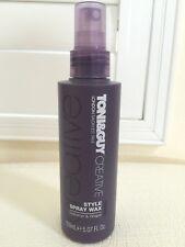 TONI & GUY LONDON SALON Hair Mist Style Spray Wax Definition Shape Full 5oz NEW