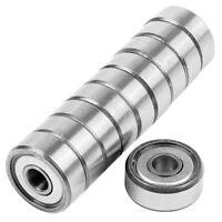 10X 625ZZ Miniature Model Rubber Sealed Metal Shield Metric Radial Ball KA