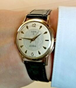 Elgin American Made Vintage Automatic Men's Watch w/ Durabalance & 27 Jewels