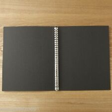 MUJI Moma Recycled paper binder A4 30 hole dark gray from Japan New