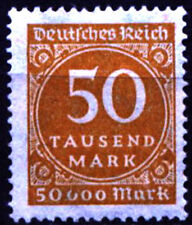 Germany (DR) 1923 Mi 275 Digits in a circle - NG