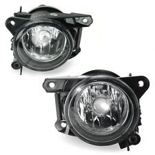 For VW Polo 6N2 2x Fog Lights Clear Glass Chrome Bulbs H7 Set