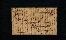 "1839 ""BOYDTON Va."" 3pg Randolph Macon College letter - Henry Jones, Warrenton GA"