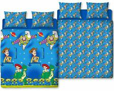 Toy Story Friends Double Duvet Quilt Cover Reversible Bedding Disney Bed Kids