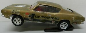 1968 PLYMOUTH CUDA BARRACUDA HEMI UNDER GLASS WHEELSTANDER MOPAR MPC MODEL KIT