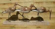 ARCHIPELAGO WOOD CARVING  - GODWIT BLOCK D146 -  SEA BIRDS