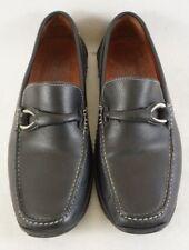 Donald J Pliner ELEO Slip On Driving Loafer Shoes Mens 7.5M Black