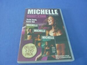 Michelle Bridges Project 3 Pack DVD Extreme / Ripped / Shape-Up Region 0
