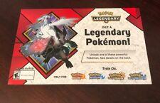 Target EXCLUSIVE Reshiram & Zekrom 2018 Pokemon Event Code Sun & Moon Ultra