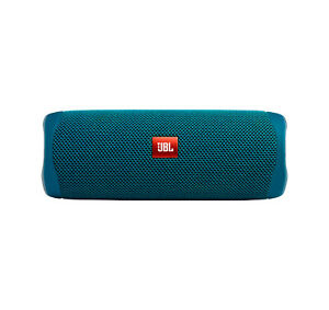 JBL Flip 5 ECO Blue Portable Bluetooth Speaker (Open Box)
