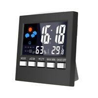 Digital LCD Folding Desk Travel Alarm Clock Trip - Temperature Date Calendar