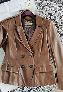 Burberry Prorsum Leather jacket Size IT38 UK8