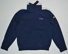NWT TOMMY HILFIGER men's Jacket, S, Small, Navy Blue, Full Zip, Hood