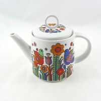 Vintage Royal Crown Arnart Paradise Teapot & Lid