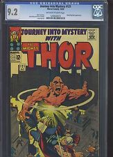 JOURNEY INTO MYSTERY #121 CGC NM- 9.2; OW-W; Kirby cover/art!