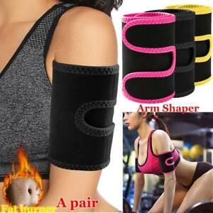 Neoprene Hot Sweat Slimming Arms Trimmer Belt Wrap Weight Loss Shaper Fat Burner