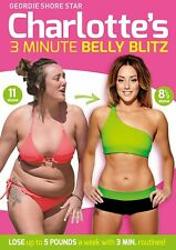 * NEW SEALED Fitness Workout DVD * CHARLOTTE CROSBY'S 3 MINUTE BELLY BLITZ