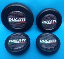 DUCATI DIAVEL - AXLE WHEEL SPINDLE PLUGS BUNGS CAPS front & rear sets