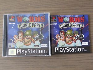 JEU PLAYSTATION PS1 WORMS WORLD PARTY  COMPLET
