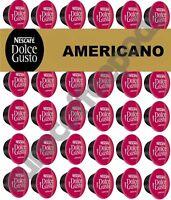 Nescafe Dolce Gusto Americano Coffee Pods 20,40,60,80,100 Capsules
