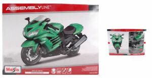 Model Kit Of Mount motorcycle Maisto Kawasaki Ninja ZX14R 1:12 Motor Bike New
