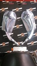 NEW! CHROME ARROWHEAD MIRROR SET fit ALL HARLEY 65-UP